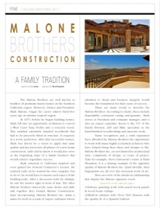 Fine Homes - San Diego Home Builder